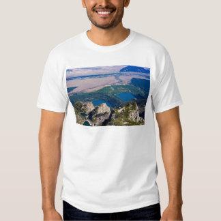 Glacial lakes from above shirt