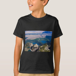 Glacial lakes from above T-Shirt
