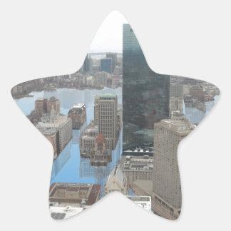 Glacial Minimum - Black Star Sticker