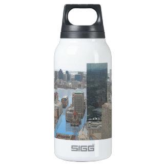 Glacial Minimum - Black Thermos Bottle