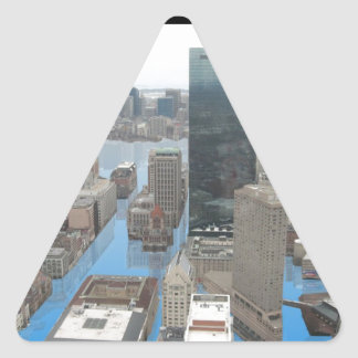 Glacial Minimum - Black Triangle Sticker