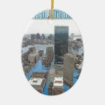 Glacial Minimum Christmas Tree Ornament
