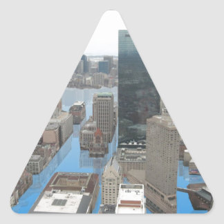 Glacial Minimum Triangle Sticker