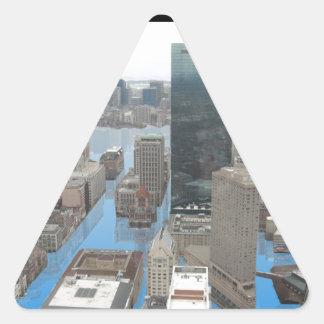 Glacial Minnimum Triangle Sticker