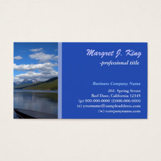 Glacial National Park  photography profile card