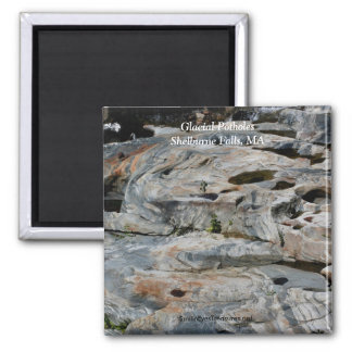Glacial Potholes Shelburne Falls MA Magnet