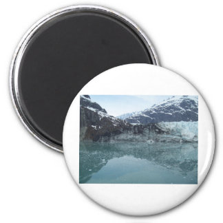 Glacial Reflections 3 2 Inch Round Magnet