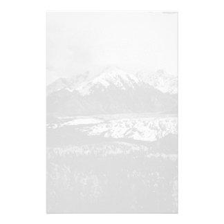 Glaciar 1970 de los E.E.U.U. Alaska Matanuska del Papeleria De Diseño