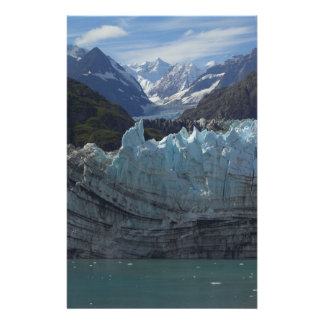 Glaciar Alaska de Margerie Personalized Stationery
