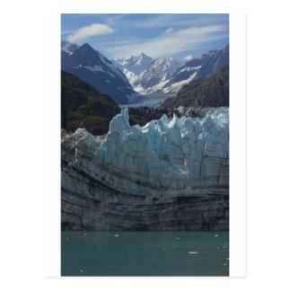 Glaciar Alaska de Margerie Tarjetas Postales