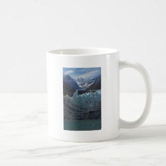 Glaciar Alaska de Margerie Taza Básica Blanca