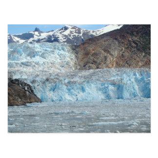 Glaciar Alaska del aserrador Postal