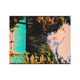 Glaciar alpino de los lagos Joffrey Impresión De Lienzo
