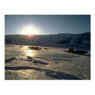 Glaciar ascendente, isla de Ellesmere, N.W.T. Tarjetas Postales