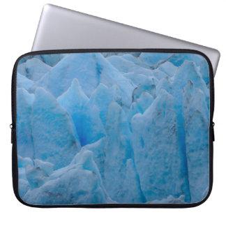 Glaciar azul fundas computadoras