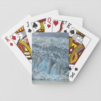 Glaciar de Alaska Cartas De Póquer