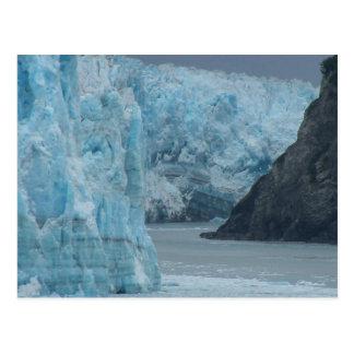 Glaciar de Alaska Hubbard Tarjetas Postales
