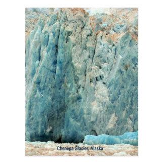 Glaciar de Chenega, Alaska Tarjetas Postales