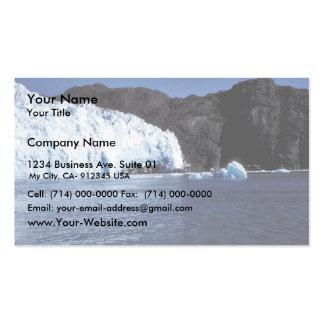Glaciar de Chenega Tarjetas De Visita
