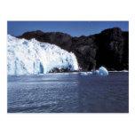 Glaciar de Chenega Tarjeta Postal