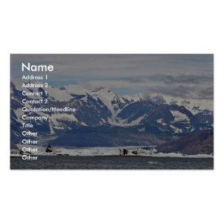 Glaciar de Columbia Tarjeta De Negocio