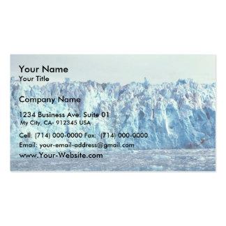 Glaciar de Columbia Plantilla De Tarjeta De Visita