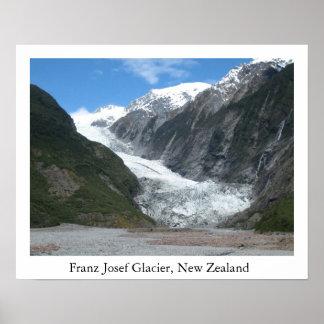 Glaciar de Francisco José, Nueva Zelanda Posters
