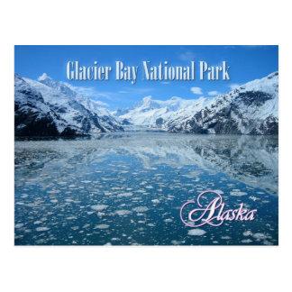 Glaciar de Johns Hopkins, Glacier Bay, Alaska Tarjeta Postal