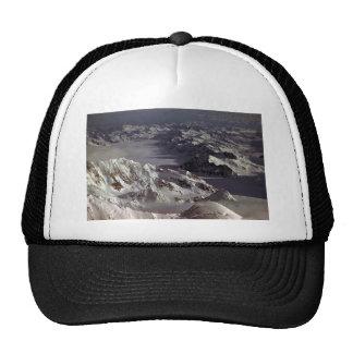Glaciar de Kahiltna según lo visto del monte McKi Gorros