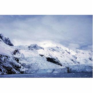 Glaciar de la marea en príncipe Guillermo Sound Escultura Fotográfica