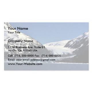 Glaciar de la marea plantilla de tarjeta de negocio