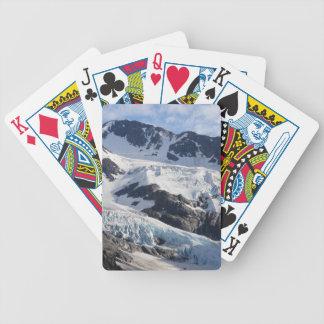 Glaciar de la montaña baraja de cartas