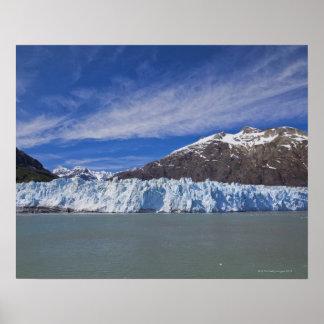 Glaciar de Margerie en el Glacier Bay NP Póster
