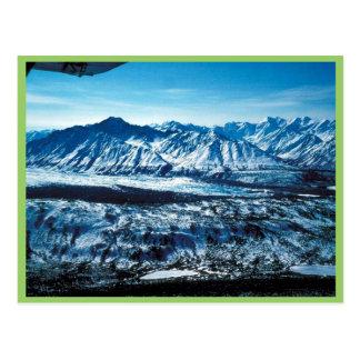Glaciar de Matanuska Tarjetas Postales