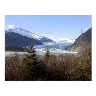Glaciar de Mendenhall, Alaska Tarjeta Postal