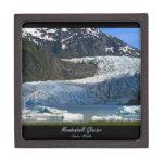 Glaciar de Mendenhall/Juneau Alaska Cajas De Joyas De Calidad