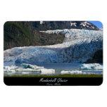 Glaciar de Mendenhall/Juneau Alaska Imán De Vinilo