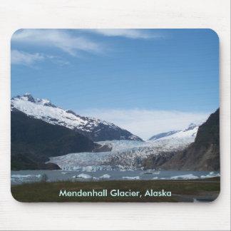 Glaciar de Mendenhall Alfombrillas De Raton
