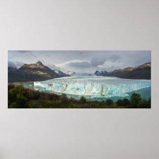 Glaciar de Perito Moreno panorámico Póster