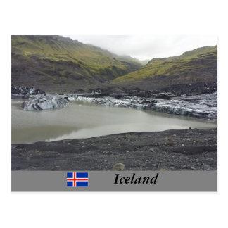 Glaciar de Sólheimajökull, Islandia Tarjetas Postales