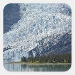 Glaciar de Wellesley en el fiordo de la Pegatina Cuadrada