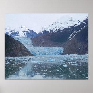 Glaciar del aserrador póster