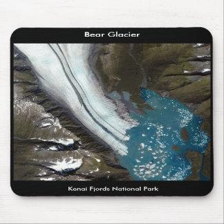Glaciar del oso - parque nacional de los fiordos d tapete de ratón