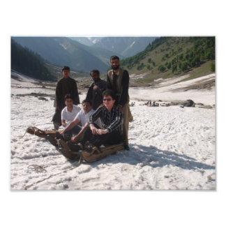 Glaciar en Cachemira Cojinete