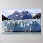 Glaciar en la impresión de Alaska Impresiones