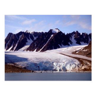 Glaciar en Svalbard, (Spitsbergen) Postal