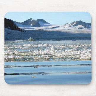 Glaciar en Svalbard Alfombrilla De Raton