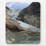 Glaciar noruego alfombrilla de raton