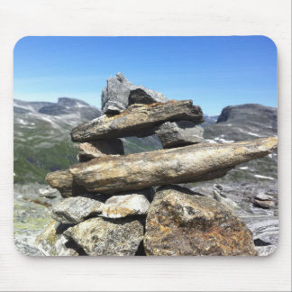 Glaciar noruego tapetes de ratón