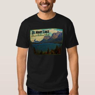 Glaciar NP del lago st. Mary Playera